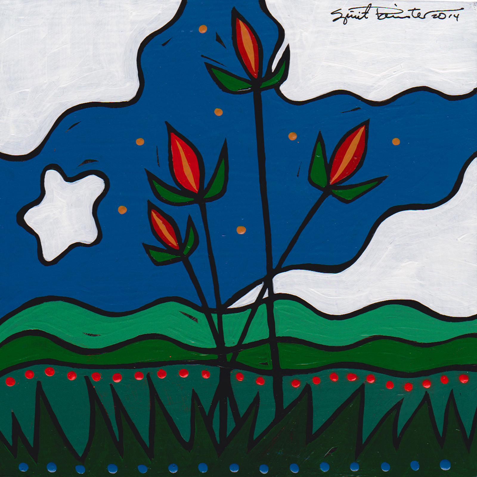 night-blooms